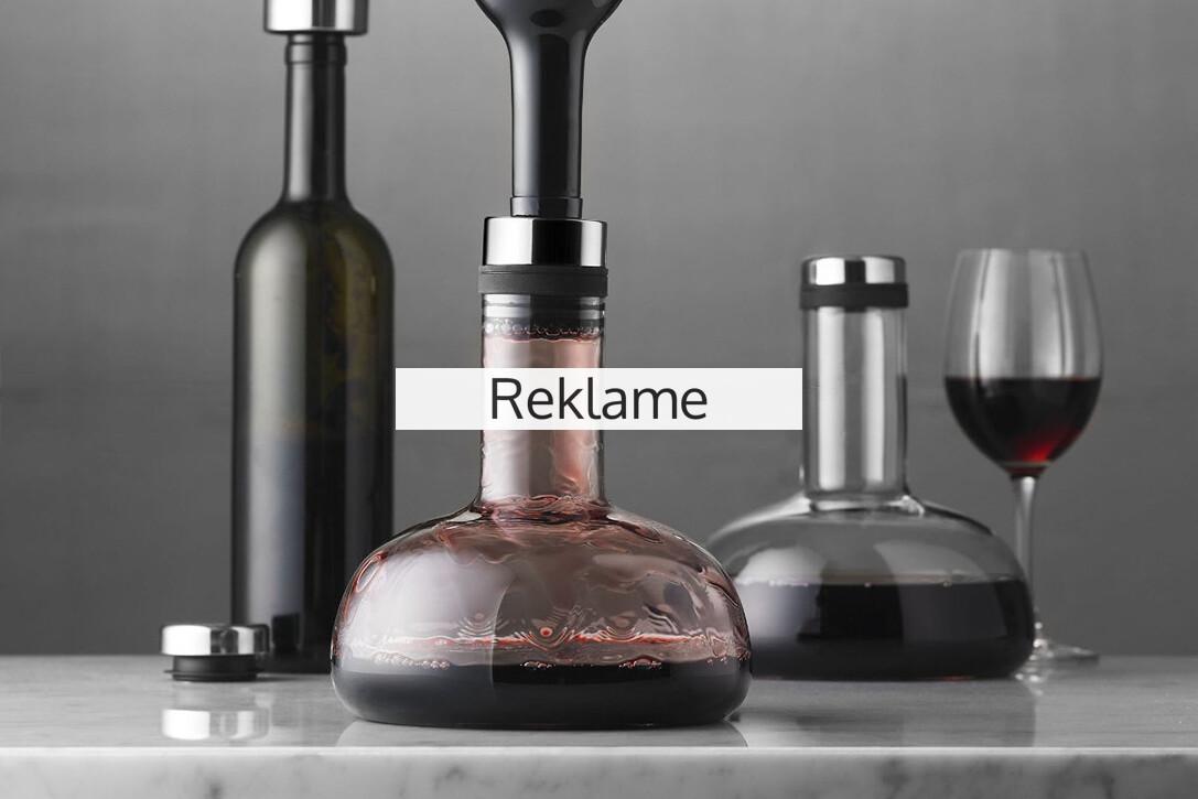 Vinkaraffel Test - Find den bedste vinkaraffel
